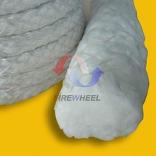 Fiberglass rope lagging for heat resistant door seal fiberglass insulation rope fiberglass seal rope