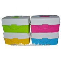 Plastic with handle Medical storage case