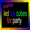 led flashing ice cube for party