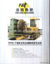heat exchanger drilling machine deep hole depth 750mm