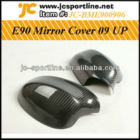09 UP Rear View Carbon Mirror Cover For BMW E90