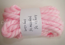 Super bulky acrylic polyester yarn dyed,thumb thick
