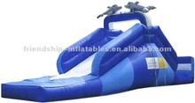 Attraction Inflatable dolphin water slide