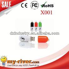 Popular Customized Design Promotional pill 8gb usb 3.0