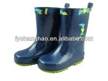 Kid Summer Funky Cute Dark Blue Summer Rain Boots