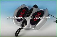electric vibrating foot massage machine, vibrating hand massage by pads