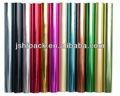 varios colores plian calientedelahojadeimpresión para la industria textil con un diseño personalizado