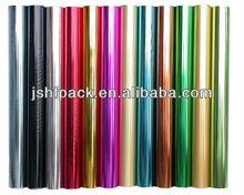 Várias cores plian hot stamping para têxtil com design personalizado