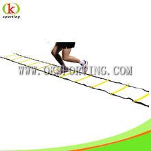 Adjustable football agility flat ladder for school sport goods