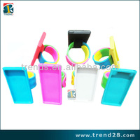Hot selling Wristwatch Fashionable silicon case cover for Ipod nano7