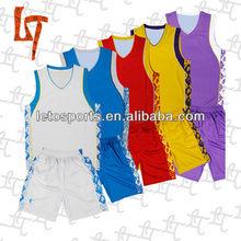 Leto custom dry fit moisture-wicking basketball uniform/jersey/set