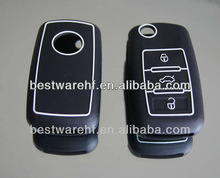 VW Volkswagen Golf 6/Golf Variant/Golf Plus/Golf GTI silicone rubber car key cover, remote car key wallets