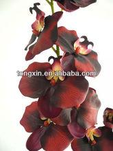 27538 agradável decoração orchidales arranjo de seda da orquídea flor artificial