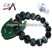 Gemstone Agate Mens Hand Bracelets Handicrafts For Sale