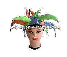 TZ-M036 polyester clown costume hats