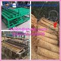 Máquina para hacer punto en blanco para/arroz estera de paja de la máquina para hacer punto para invernadero de hortalizas/esteras/alfombrillas reed máquina de tejer/0086-13703827012