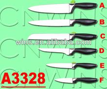 5pcs stainless steel kitchen knife set knife blade blanks