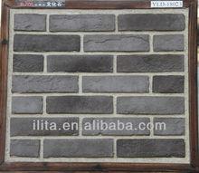 grey thin brick for exterior wall decoration