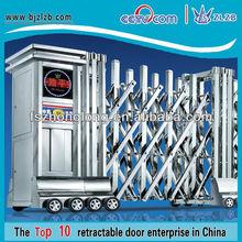 Folding Main moving Gate design for factory entrance