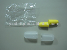 Airline ear plug put in PVC box