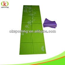 2014 new style PVC fold yoga mat