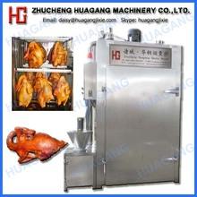 Good quality chicken smoke equipment with glass window