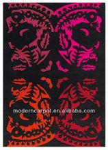 Handmade contemporary Hotel & home decorative area carpets rugs model Lm1570