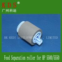 printer spare parts RF5-3338-000 Pick-Up Roller Genuine pickup Feed Separation roller for hp Color LaserJet CLJ 5500/5550