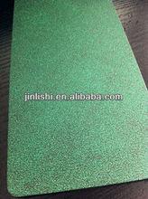 2013 new style bright silver green rubber sole