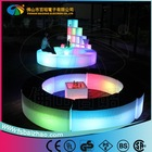 LIGHT PORTABLE BAR TABLE/LED OUTDOOR FURNITURE