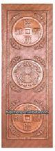 Cheap Copper Entrance Door