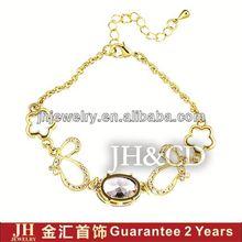 JH 18K Gold Plated Bracelet handmade bracelet ideas