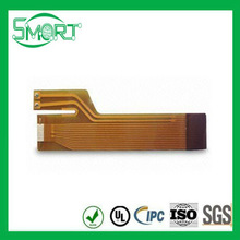 HOT!!Smart bes Flexible PCB with 2 mil PI Cover FilmFlexible PCB with Silver Sheet as EMI Shielding Used in Sensor Module