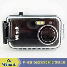"Waterproof digital camera with 2.0Mega pixels an 1.44"" TFT LCD"