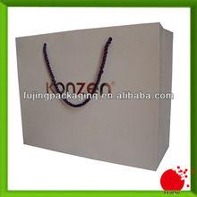 Custom brand shopping paper bags