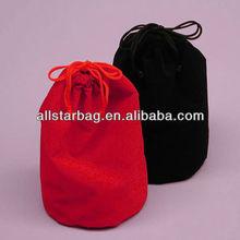 customized black velvet drawstring bag,waterproof cinch drawstring bag,softball drawstring bags