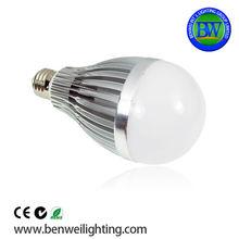 2013 lastest low cost Aluminum housing Ra80 12w b22 led bulb