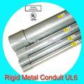 eléctrico galvanizado rígido conducto de acero tubo de la pipa