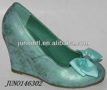 2014 fashion Lady Dress shoes women wedge shoes