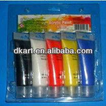 New Arrival Art Supply 75ML,Acrylic colour