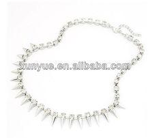 Factory latest design 2013 necklace plain chain