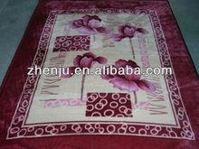 2013 hot design mink blanket manufacture excellent quality