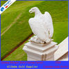 eagle marble stone carving statue for decoration