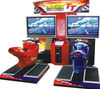 TT motor racing simulator eletronic teenage games