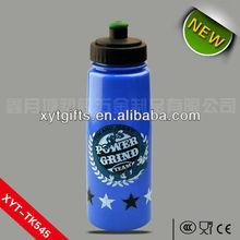 tritan water bottle/drinking bottle BPA free plastic sports bottle with sipper cap