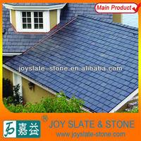 natural black slate roof tile