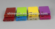 High quality 6600mah portable power bank power bank samsung with aluminum case and Li Polymer battery