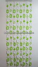 plastic bead door curtain / decorative beads curtain