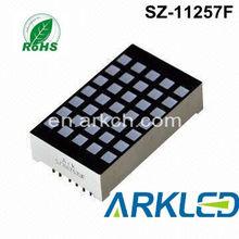 1.2 inch 5*7 Dot Matrix LED Display , red dot matrix