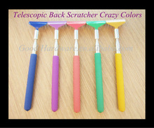 Telescopic Back Scratcher Metal Extendable Handle Portable Home Travel Massager